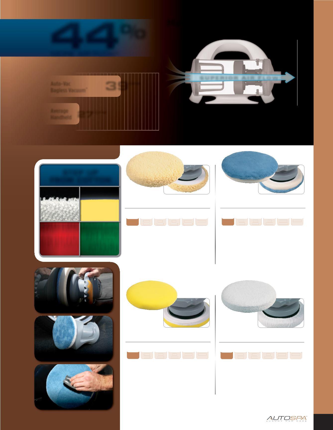 Autospa 40411As Foam 9-10/&Quot; Polishing Bonnet